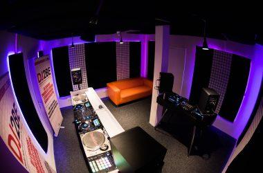 dj2be overzicht studio