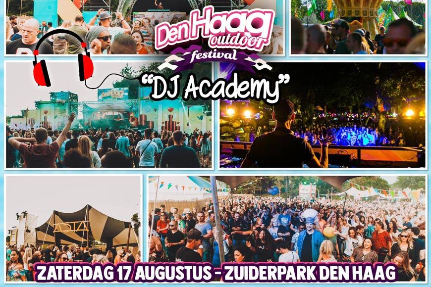 Den Haag Outdoor X DJ2BE DJ Academy